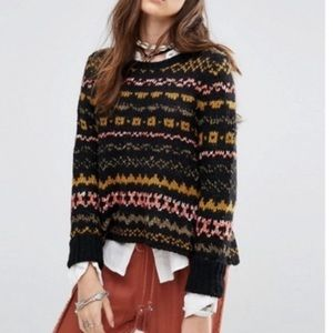 Free People Through The Storm Pullover